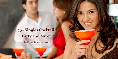 VIP Singles Cocktails Mixer - Ages 45+ tickets