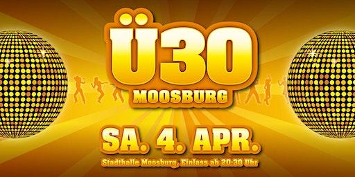 Ü30 Party Moosburg - Jubiläumsveranstaltung