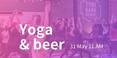 Yoga and Beer tickets