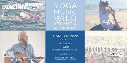 International Women's Day Yoga Music Mermaids-Jack Harrision & Helen Colfer