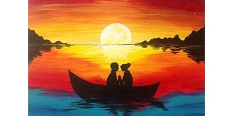"Sip and Paint A ""Romantic Sunset"" at Atwood Lounge March 7 (03-07-2020 starts at 2:30 PM) tickets"