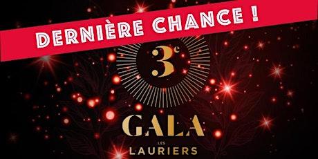 Gala des Lauriers /// 3e édition billets