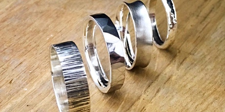 Jewellery Making Class - Hammered Silver Ring tickets