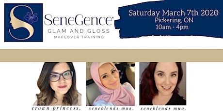 SeneGence Training - Make-Up, Social Media and Business tickets