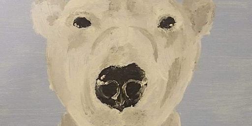 Pour & Paint Polar Bear
