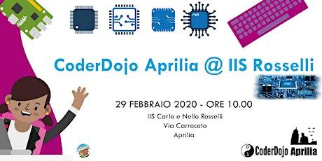 CoderDojo Aprilia - 29 Febbraio 2020 - CoderdojoAprilia@Rosselli biglietti