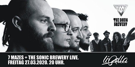 LIVE: 7Mazes + The Sonic Brewery Tickets