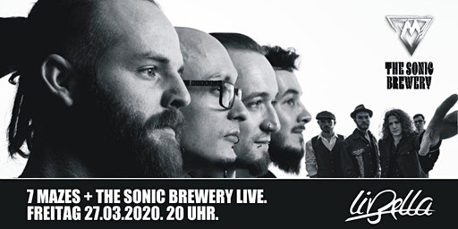 LIVE: 7Mazes + The Sonic Brewery