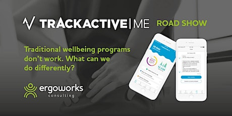 TrackActive Me Sydney Roadshow - Wednesday 25th March tickets
