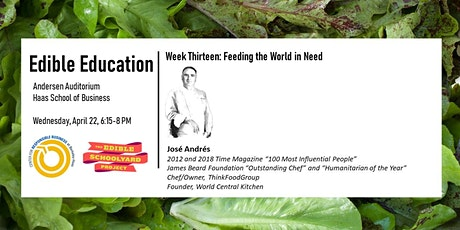 Edible Education - Feeding the World in Need tickets