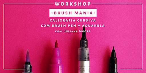 Brush Mania - Workshop de Brush Pen | Rio de Janeiro
