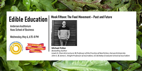 Edible Education - The Food Movement: Past and Future tickets