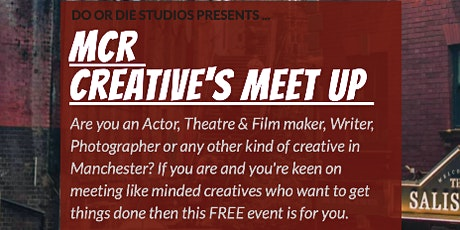 MCR Creative's Meet up tickets