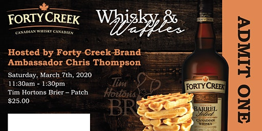 Forty Creek Whisky and Waffles