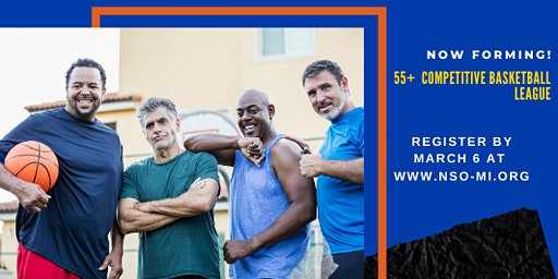 MEN'S 55+ COMPETITIVE BASKETBALL