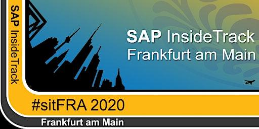 SAP InsideTrack Frankfurt 2020 #sitFRA