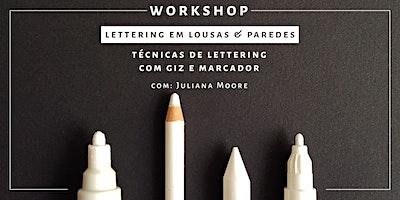 Lettering em Lousas & Paredes - São Paulo