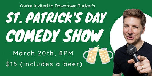 St. Patrick's Day Weekend Comedy Show