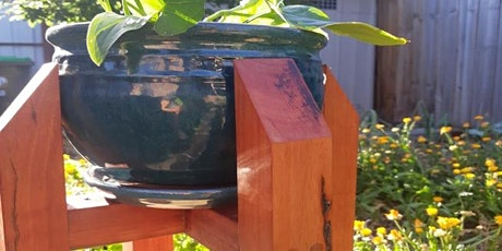 Weekend Two Day Workshop : Make your own recycled Red Gum pot plant stand tickets