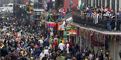 Bourbon Street Mardi Gras Balcony 530 Bourbon EARLY MARDI GRAS SPECIAL tickets