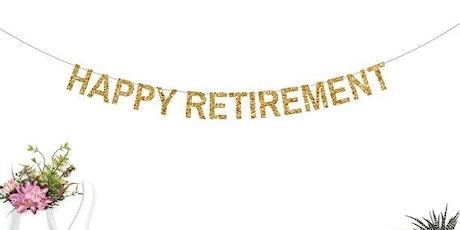 Cindy's SURPRISE Retirement Party tickets