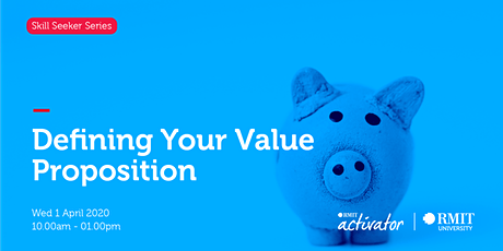 Defining Your Value Proposition tickets