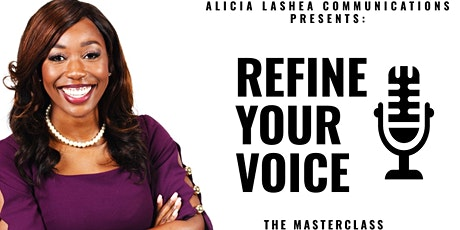 Refine Your Voice: The MasterClass tickets