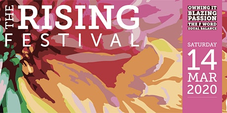 The Rising Festival 2020 Celebrating International Women's Day tickets