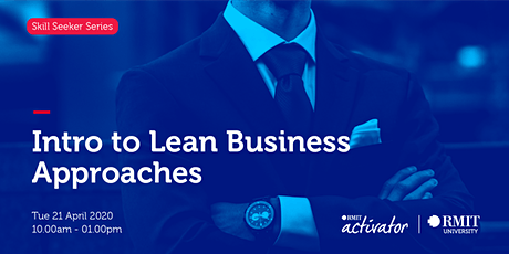Intro to Lean Business Approaches tickets