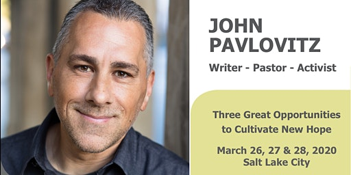 Cultivating Hope In Difficult Days with John Pavlovitz
