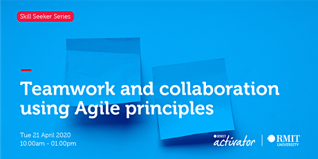 Teamwork and collaboration using Agile principles tickets