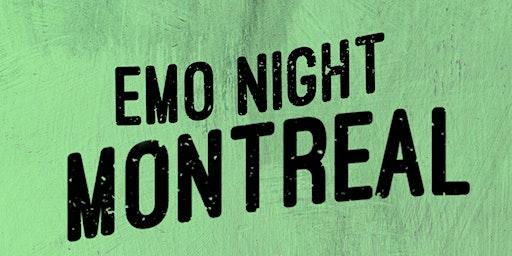 Emo Night Montréal - 28 mars 2020 // Turbo Haüs