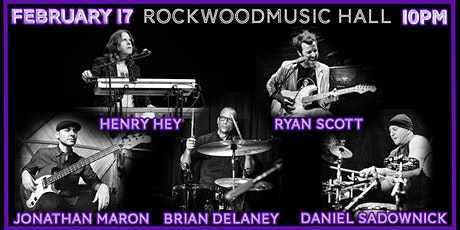 Henry Hey ft. Ryan Scott, Jonathan Maron,  Brian Delaney, Daniel Sadownick tickets