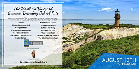 Martha's Vineyard Summer Boarding School Fair tickets