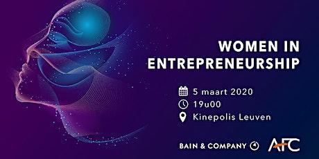 Women In Entrepreneurship tickets