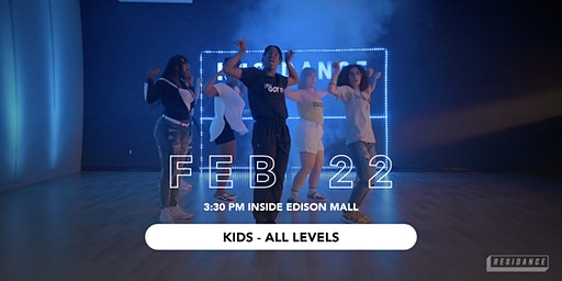 02/22 Urban Dance Class | Kids - All Levels | By RESIDANCE