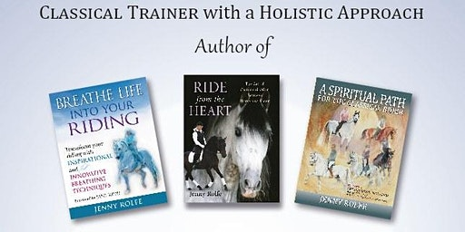 Clinic with Holistic Classical Trainer Jenny Rolfe & Georgie McBurney