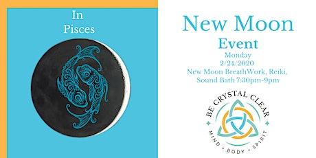 New Moon Reiki, Breathwork and Sound Bath Event tickets