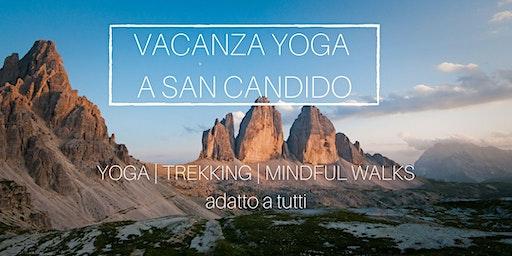 Yoga e trekking in Trentino