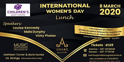 International Women's Day Lunch  in Adare Manor