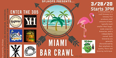 South Beach Bar Crawl tickets