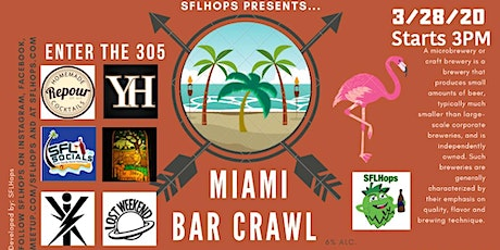 South Beach Bar Crawl entradas