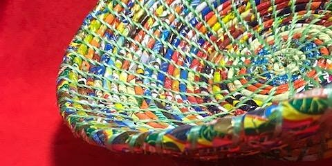 Coiled Basketry with Repurposed Materials