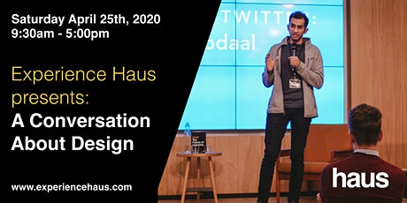 Experience Haus presents: A Conversation About Design tickets