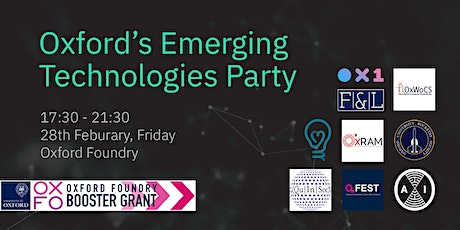 Emerging Technologies Party tickets
