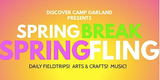 SPRING BREAK SPRING FLING WEEK- CAMP