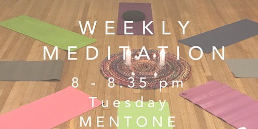 Casual Meditation Session - Tuesday 8pm in Mentone