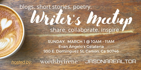 Writer's Coffee Meetup tickets