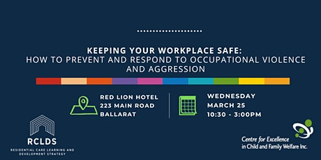 Keep Your Workplace Safe: How to prevent & respond to Occupational Violence tickets