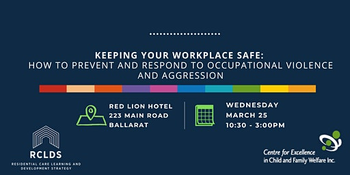 Keep Your Workplace Safe: How to prevent & respond to Occupational Violence